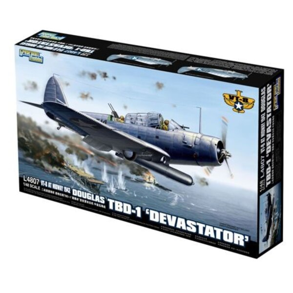 Douglas TBD-1 Devastator.VT-8 Midway 1942