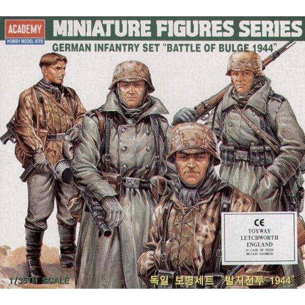 2WK-Deutsche Infanterie-Figuren