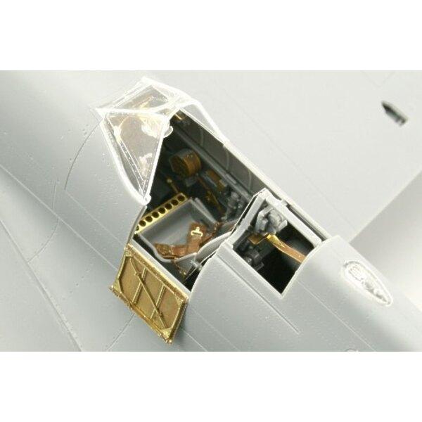 Supermarine Spitfire Mk.IX spätes Interior (selbstklebend) (für Bausätze von Tamiya)
