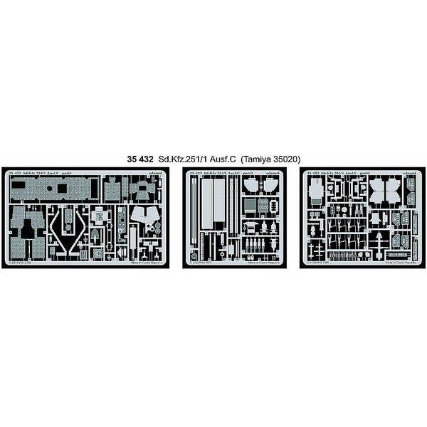 Sd.Kfz.251:1 Ausf. C (Bausatz von für Tamiya TA35020)