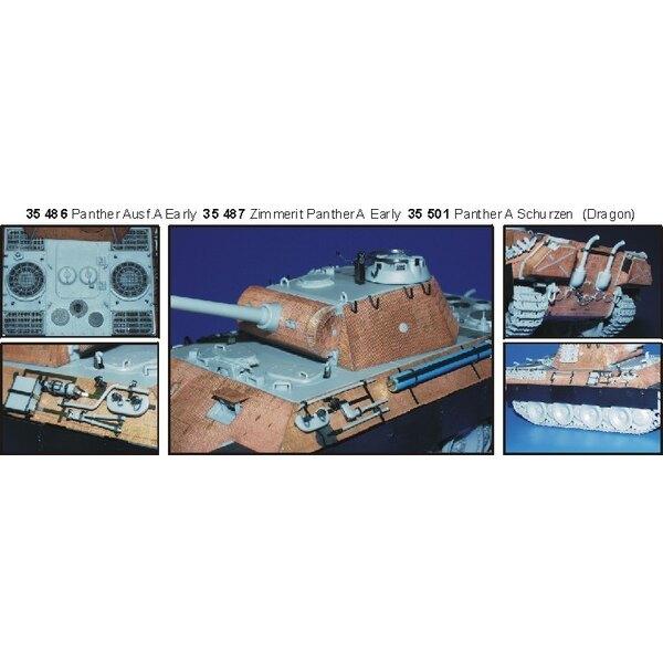Panther Ausf. A früher (für Bausätze von Dragon)