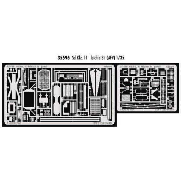 Sd.Kfz.11 leichte 3t (für Bausätze von AFV Club)