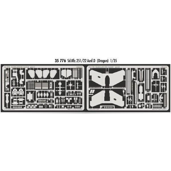 Sd.Kfz.251:22 Ausf. D (für Bausätze von Dragon)