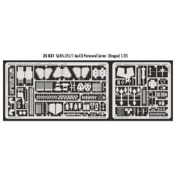 Sd.Kfz.251:1 Ausf. D Personalträger (für Bausätze von Dragon)