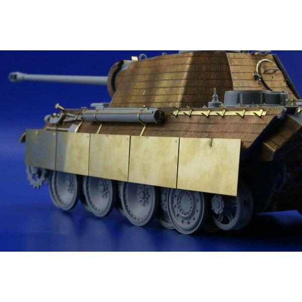 Schurzen Panther Ausf. G spät (für Dragon DN6268 Bausätze)