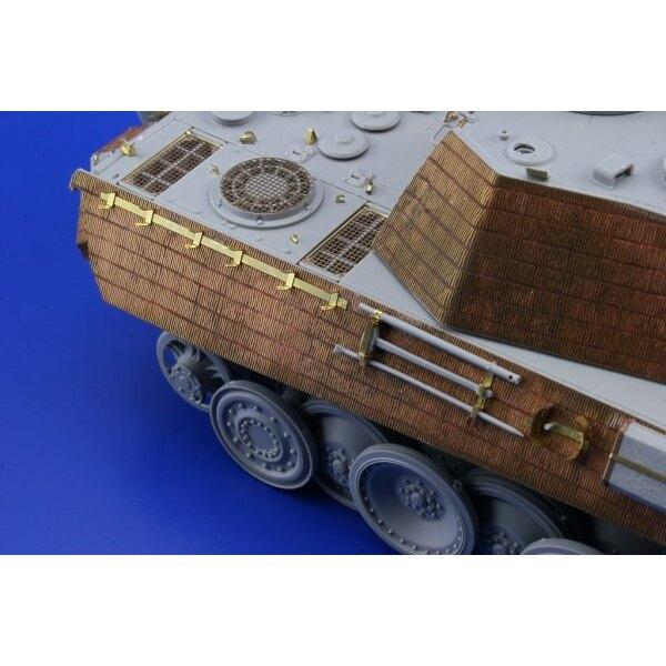 Zimmerit Panther Ausf. G spät vertikal (für Dragon DN6268 Bausätze)
