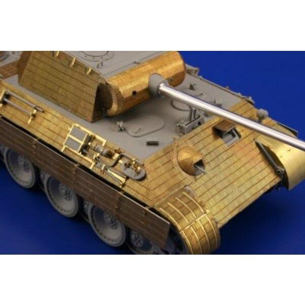 Zimmerit Panther Ausf. A später (für Dragon DN6358 Bausätze)