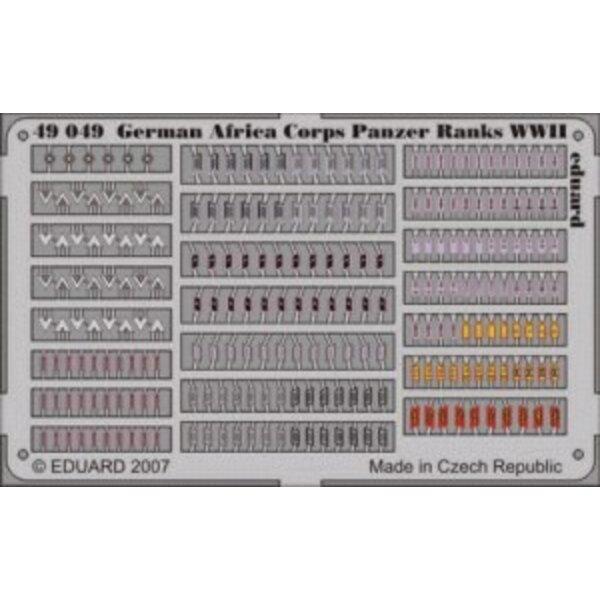 Grade-2WK von Afrika Korps Panzer in Farben vorgemalt!