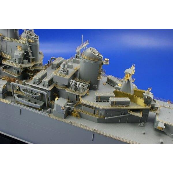 USS New Jersey (für Bausätze von Tamiya)