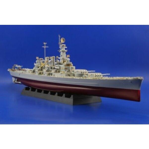 USS BB-55 North Carolina (für Bausätze von Trumpeter)