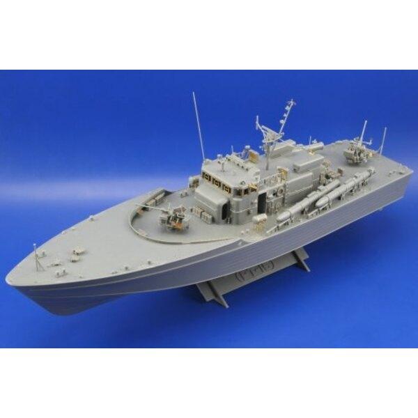 PT-15 Torpedo-Boot von Japan (für Bausätze von Tamiya)