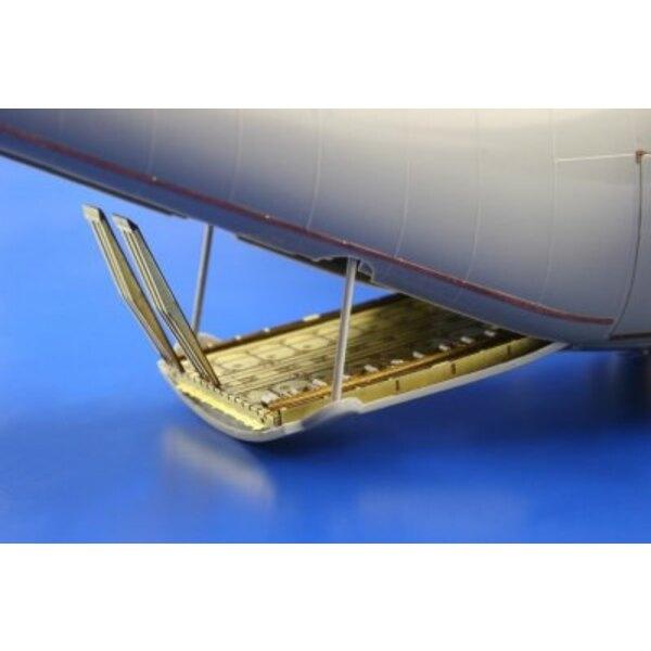 Ladungsfußboden von Lockheed C-130H/J Hercules (für Italeri-Modelle)