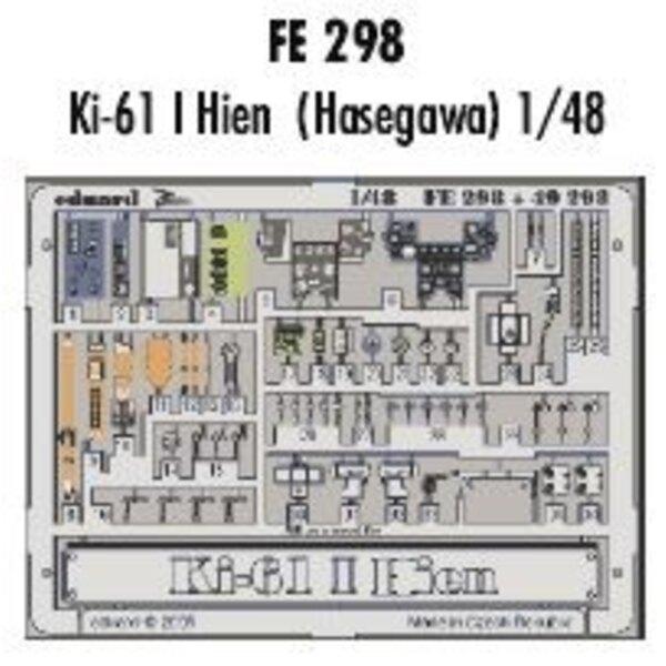 Kawasaki Ki-61 I Hien in Farben vorgemalt! (für Bausätze von Hasegawa) Dieser 'Zoom Set' ist eine vereinfachte Version der Stand