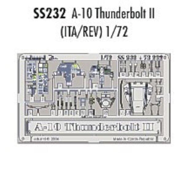 Fairchild A-10 Thunderbolt II in Farben vorgemalt! (für Italeri-Modelle und Revell) Dieser 'Zoom Set' ist eine vereinfachte Vers