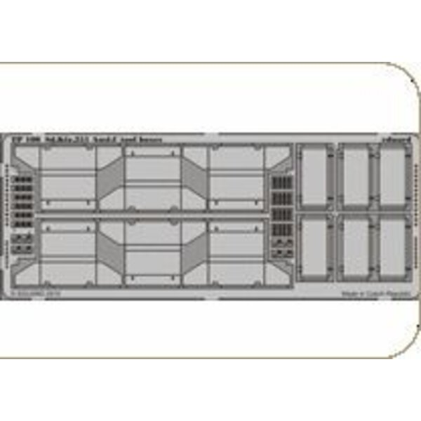 Sd.Kfz.251 Ausf. C Werkzeugkästen (für Bausätze von AFV Club)