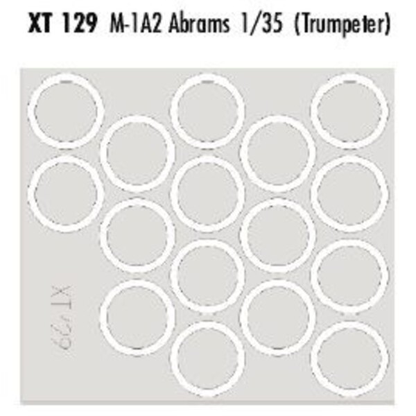 M1A2 Abrams (für Bausätze von Trumpeter)