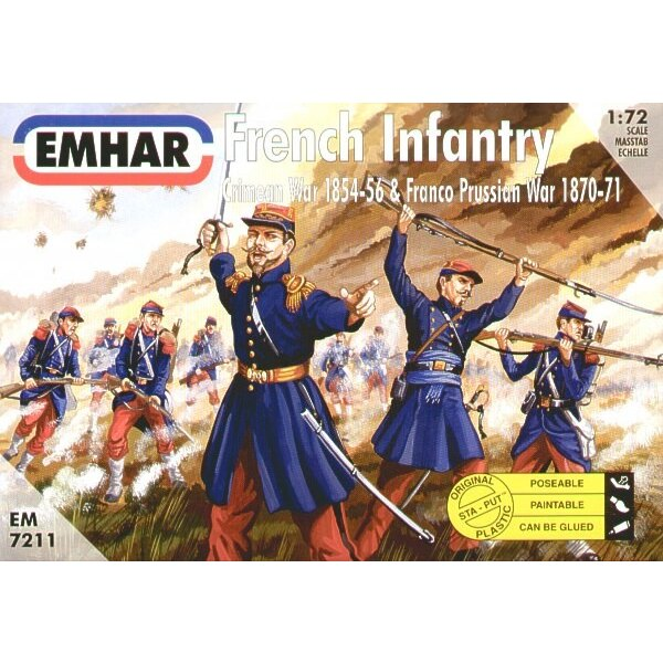Französische InfanterieKrimkrieg & Deutsch-Französischer Krieg