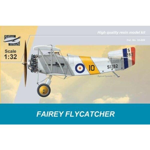 Fairey Flycatcher. Der Fairey Flycatcher war eines der frühsten Flugzeuge, die spezifisch für die Operation von Flugzeugträgern
