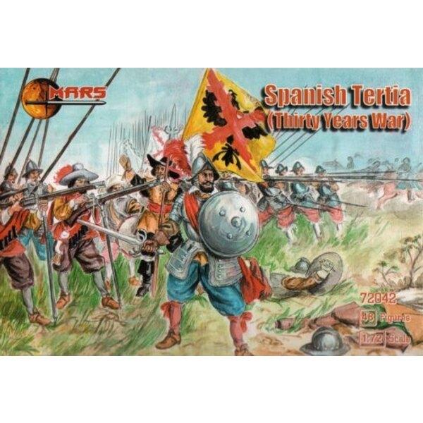 Spanischer Tertia, der Krieg von dreißig Jahren