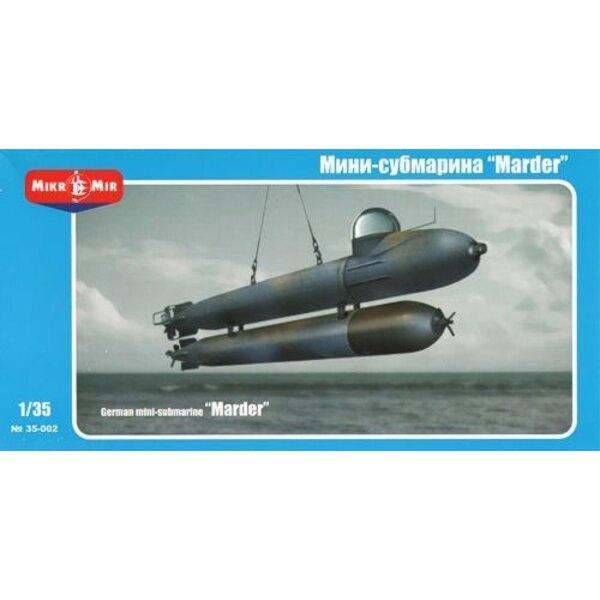 Deutsch Mini-U-Boot 'Marder'