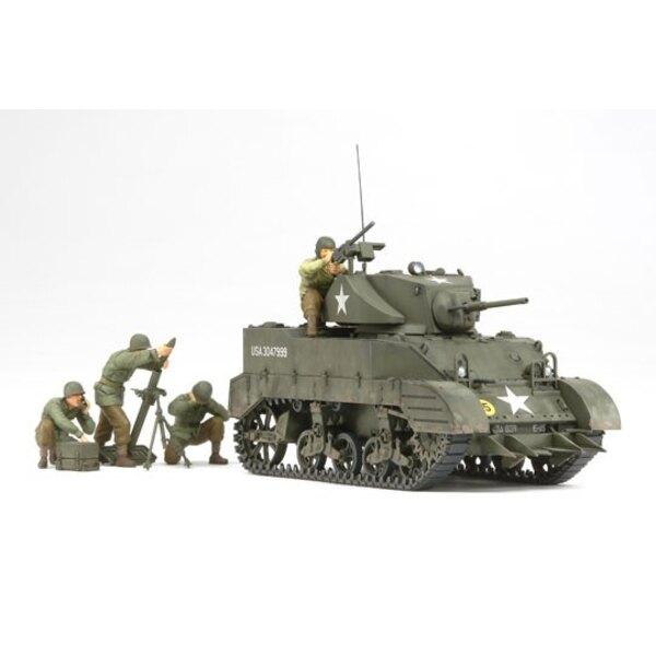 M5A1 mit 4 Figuren