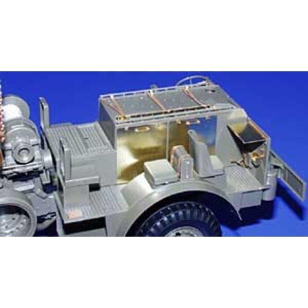 Interior von M26 Gepanzertes Panzer-Wiederherstellungsfahrzeug Dragon Wagon (für Bausätze von Tamiya)