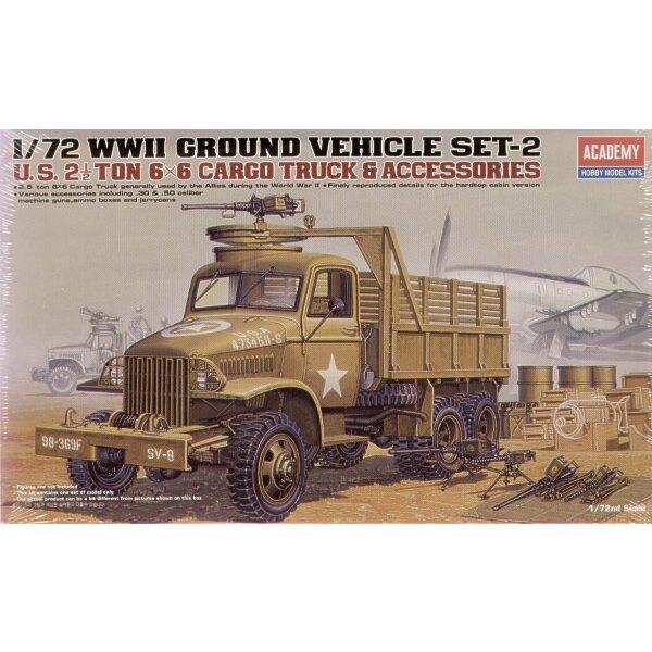 2WK US 6x6 Ladungslastwagen & Zusätze