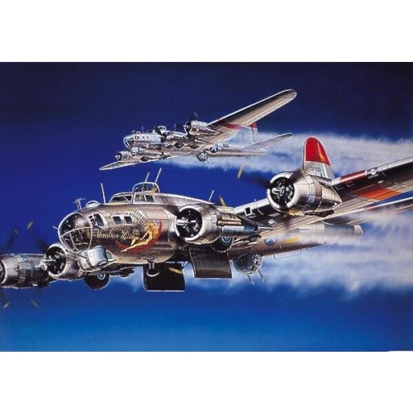"Boeing B-17G Flying Fortress Decals ""Carolina Moon"""