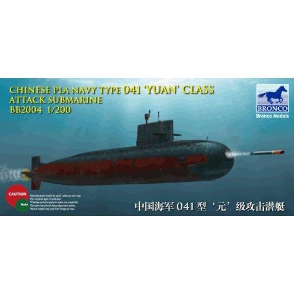 Chinesischer Marine Yuan Class Angriffs-Unterseeboot