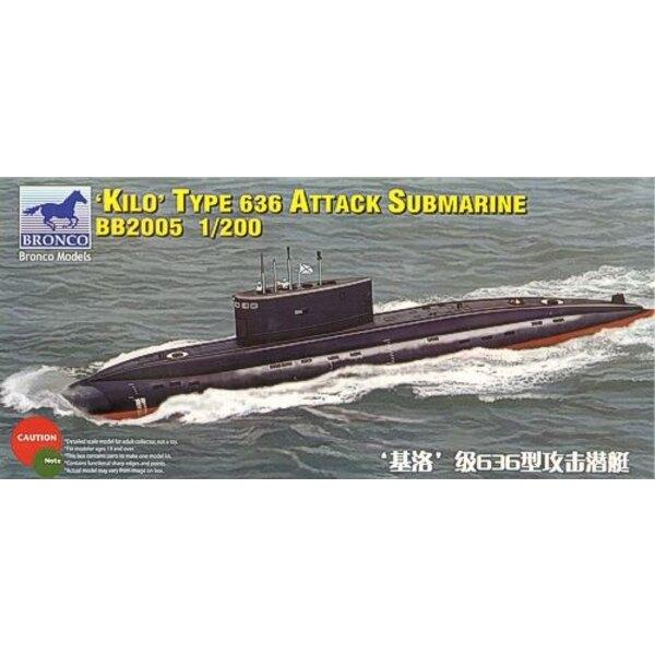 Russisches Kilo-Klasse Angriffsunterseeboot Typ 636