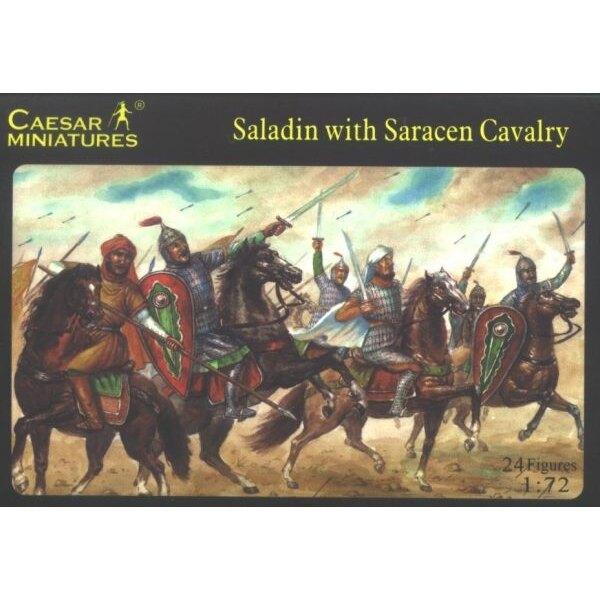Saladin mit sarazenischen Kavallerie