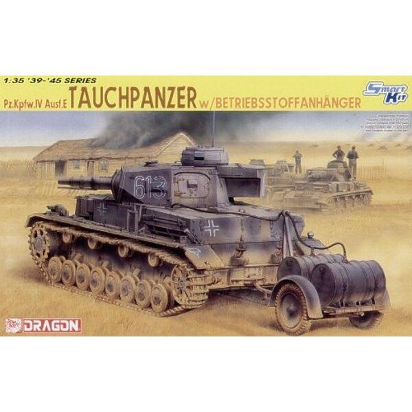 Pz.Kpfw.IV Ausf. E Tauchpanzer mit Betriebsstoffanhanger