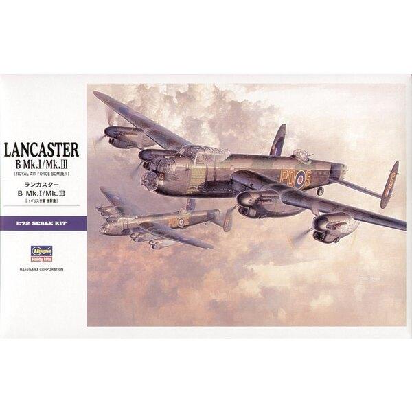 Avro Lancaster Mk.I/ III. (Alternative Markierungen für diesen Bausatz des Avro Lancaster auf Xtradecals X05472 X05572 und X0567
