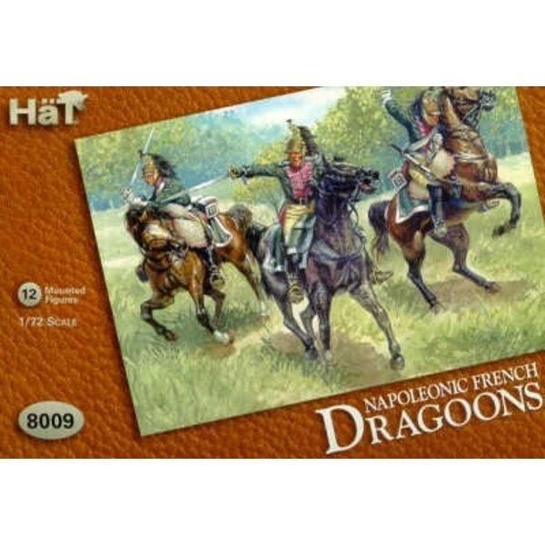 Napoleonische französische Dragoner