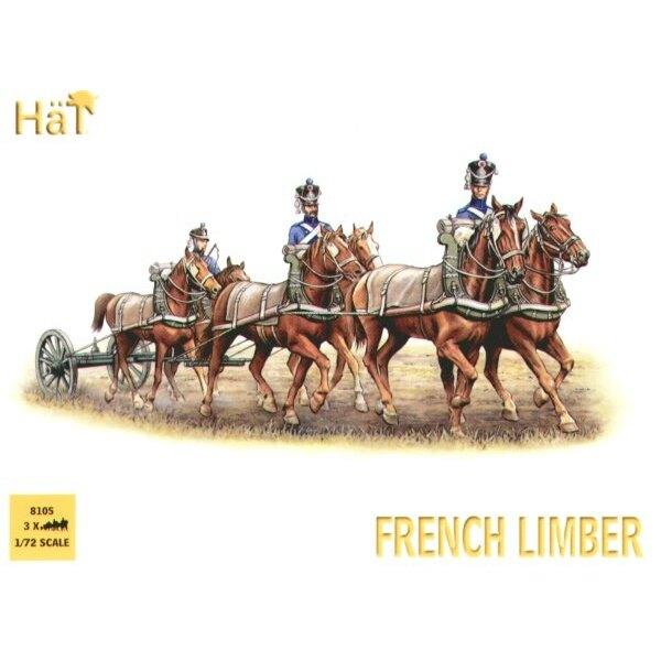 Französisches 6 Pferd Geschmeidiges Team