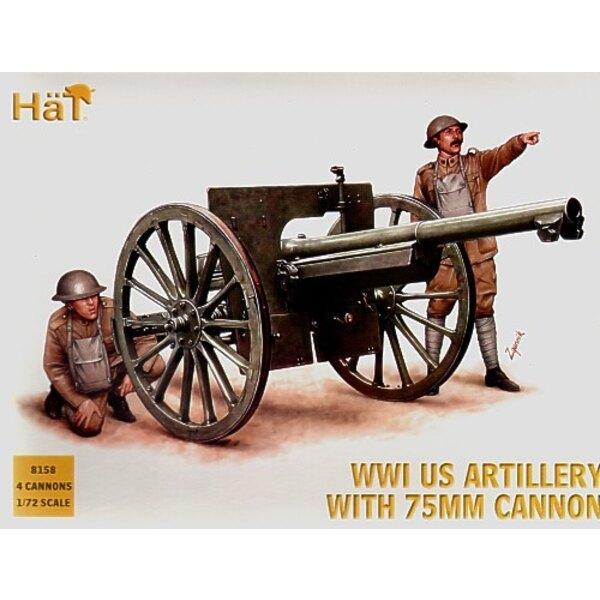 1.WK Artillerie US 4 pro Schachtel