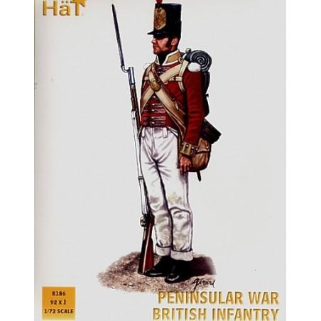 Halbinselförmige britische Kriegsinfanterie x 92 Figuren pro Schachtel