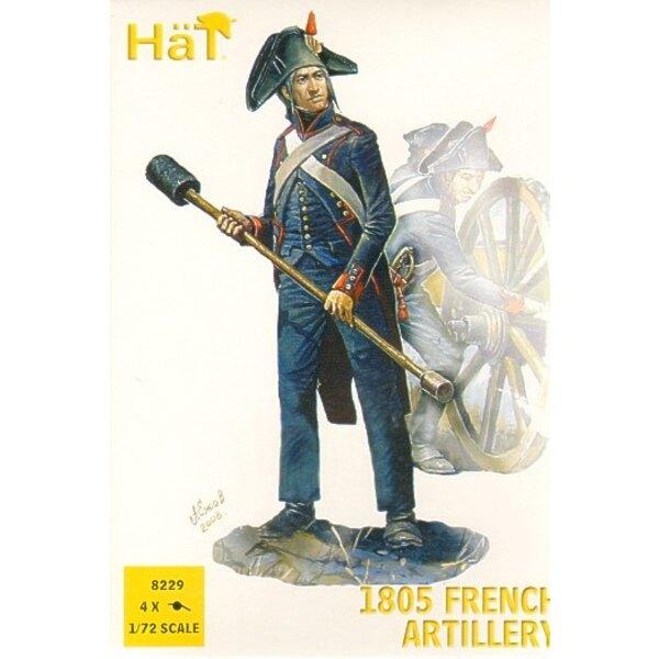 1805 französische Artillerie
