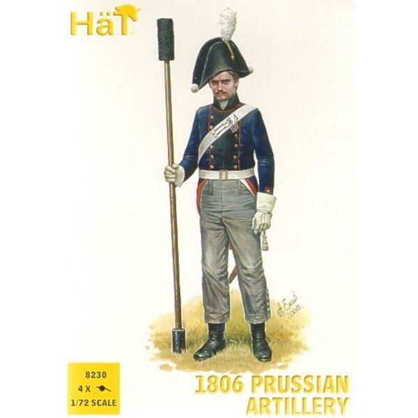 1806-Preuße-Artillerie