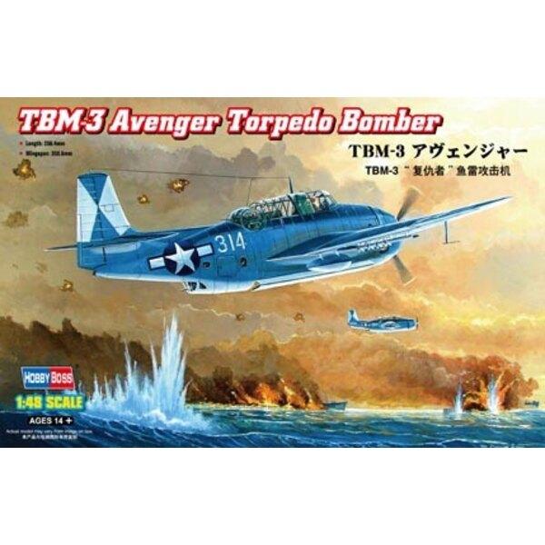 Torpedo-Bomber Grumman TBM-3 Avenger