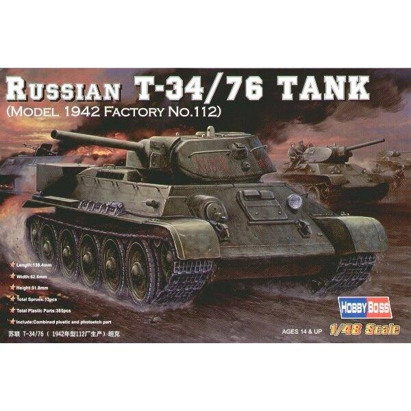 Russischer T-34/76 Model 1942-Fabrik Nr. 112