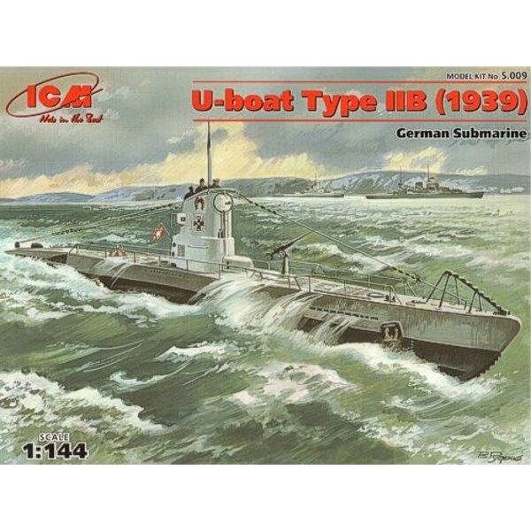 U-Boot Typ IIB 2WK-Deutscher-Unterseeboot 1939