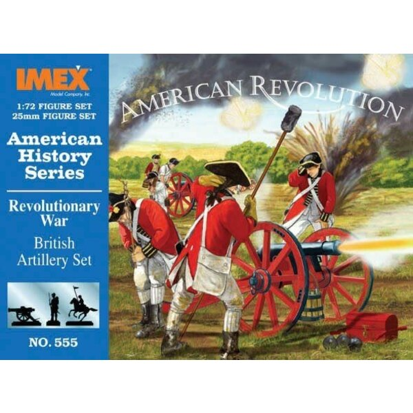Amerikanischer Krieg der Unabhängigkeitsbriten-Artillerie