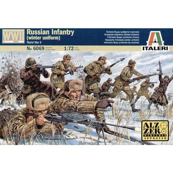2WK-Russische Infanterie mit Winteruniform