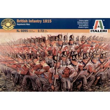 Napoleonische Kriege - britische Infanterie 1815