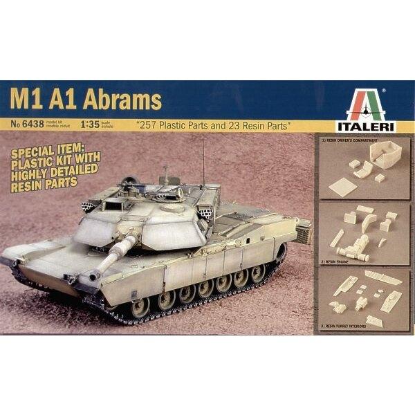 M1A1 Abrams mit Harz-Teilen