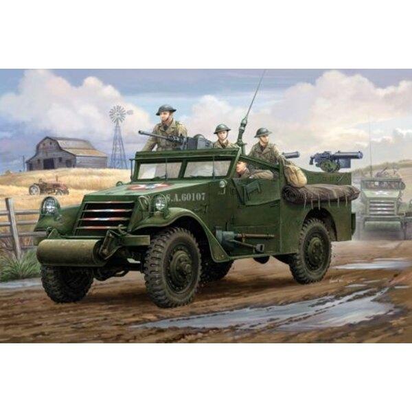 US-amerikanischer M3A1 Weißes Aufklärungwagen Frühe Produktion
