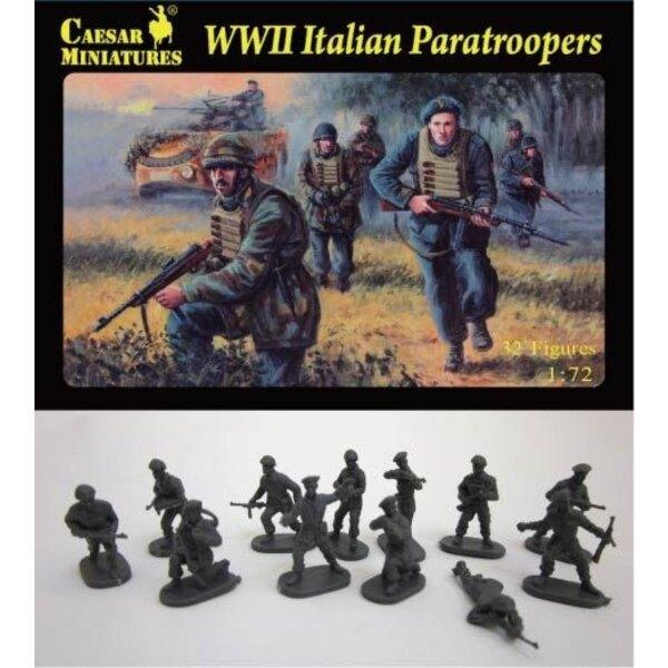 2WK-Italienisch-Fallschirmjäger