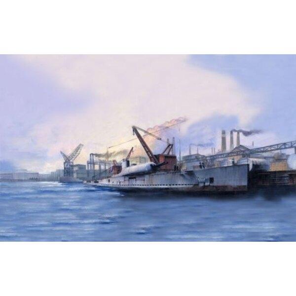 Französisches U-Boot Surcouf