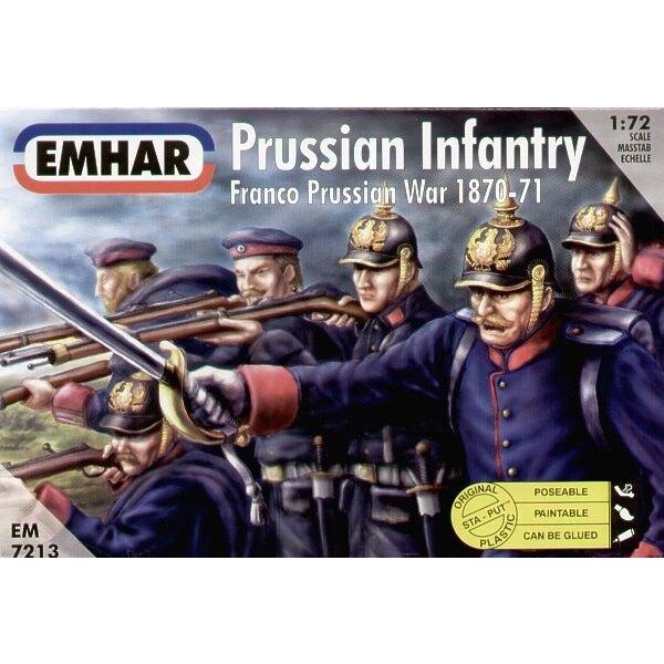 Preußische Infanterie Deutsch-Französischer-Krieg